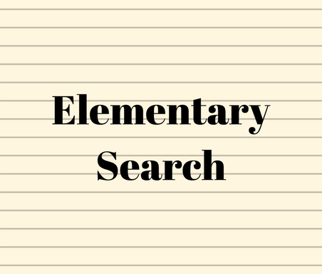 Elementary Search