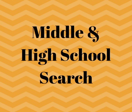 Middle & High School Search